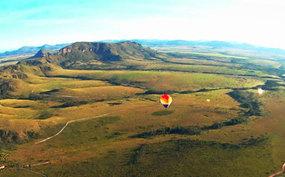 Aproveite para voar de balão